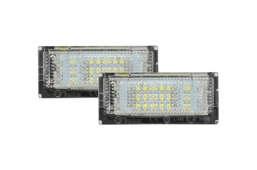 Rekisterikilven led valot Bmw e46 sedan/touring